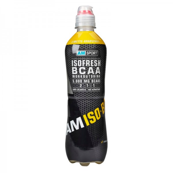 ISOFRESH BCAA DRINK Limette Grapefruit 500ml