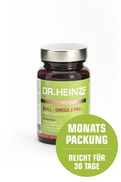 DR. HEINZE Krill Omega 3 Pro