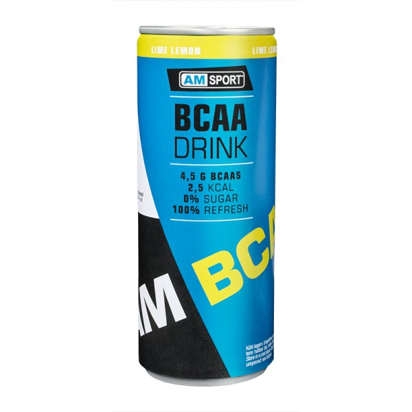 AMSPORT® BCAA DRINK 250ml - Lime Lemon