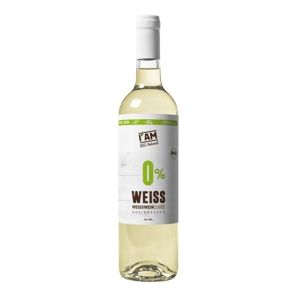 Alkoholfreieweiße Bio-Cuvée aus Rheinhessen
