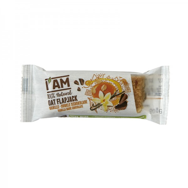 I AM® Oat Flapjack Vanilla Dark Chocolate