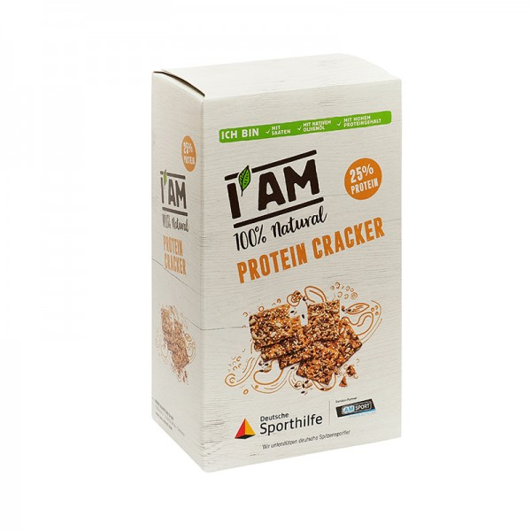 I AM Protein Cracker Packung