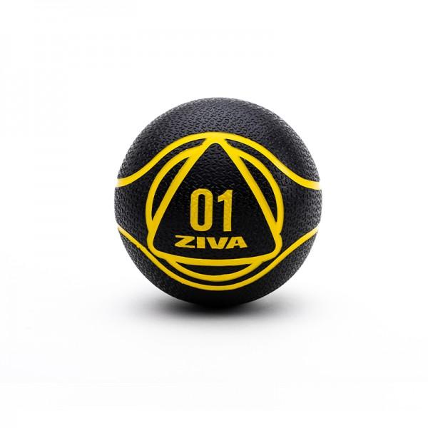 Medizinball schwarz1 kg