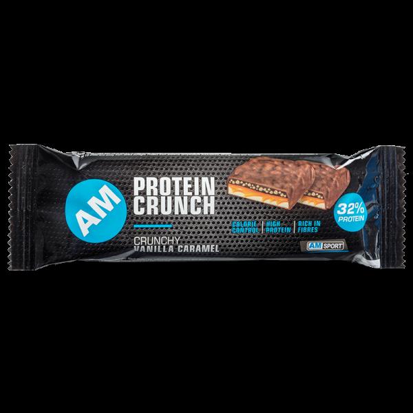 AMSPORT Eiweiß Riegel Protein Crunch Dark Choclate