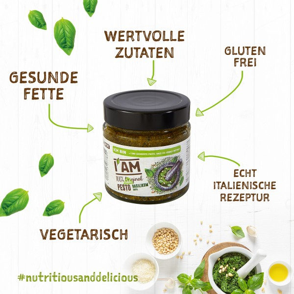 I AM® Pesto Verde 6er-Pack
